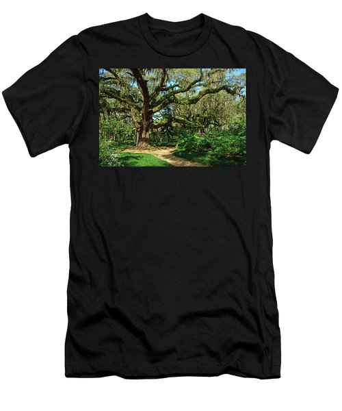 Washington Oaks Gardens Men's T-Shirt (Athletic Fit)