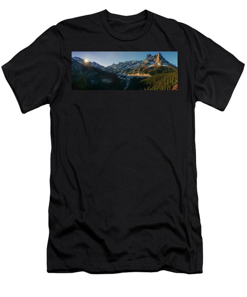 Washington Pass Rising Men's T-Shirt (Athletic Fit)