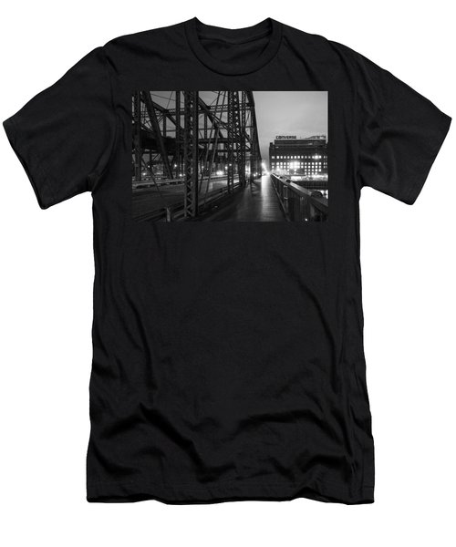 Washington Street Bridge Men's T-Shirt (Athletic Fit)