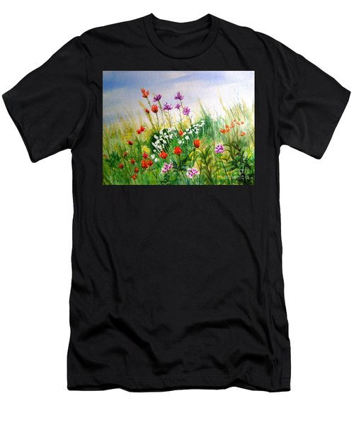 Washington Wildflowers Men's T-Shirt (Athletic Fit)