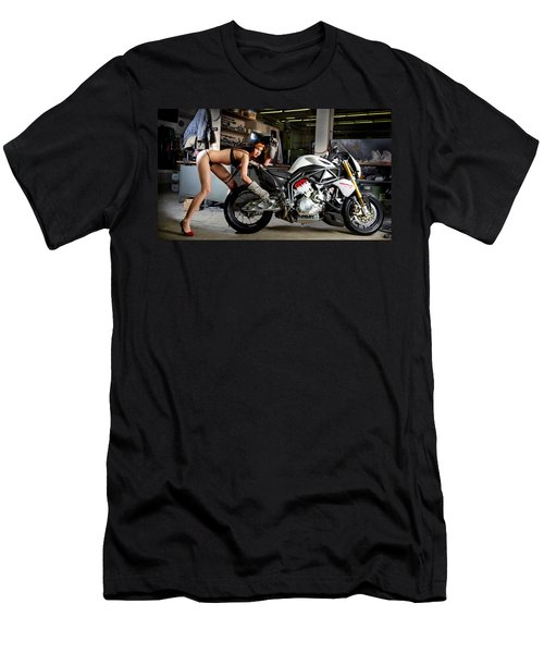 Watch Out For The Sparks Men's T-Shirt (Athletic Fit)