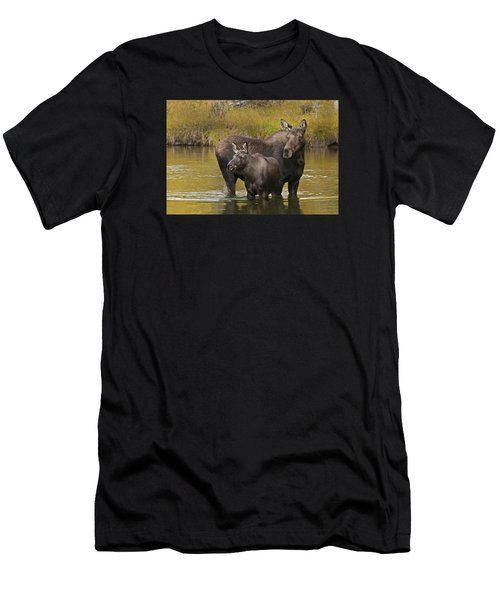 Watchful Moose Men's T-Shirt (Athletic Fit)