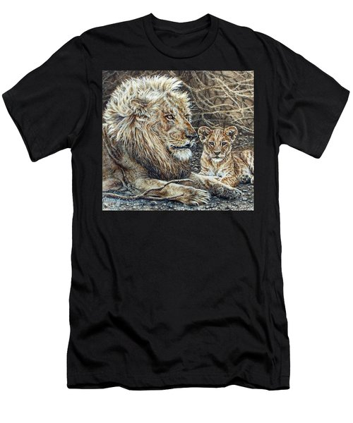 Watching And Waiting Men's T-Shirt (Athletic Fit)
