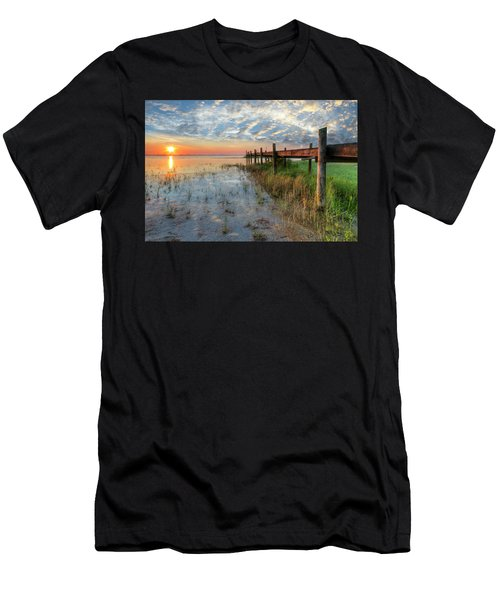 Watching The Sun Rise Men's T-Shirt (Athletic Fit)