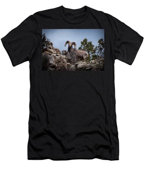 Watching You Watching Me Men's T-Shirt (Athletic Fit)