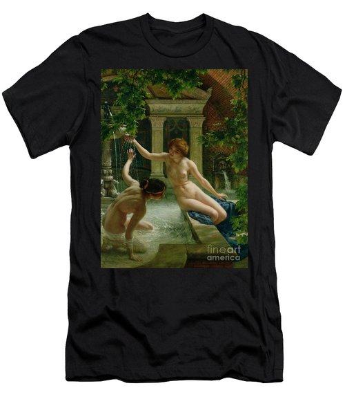 Water Babies Men's T-Shirt (Athletic Fit)