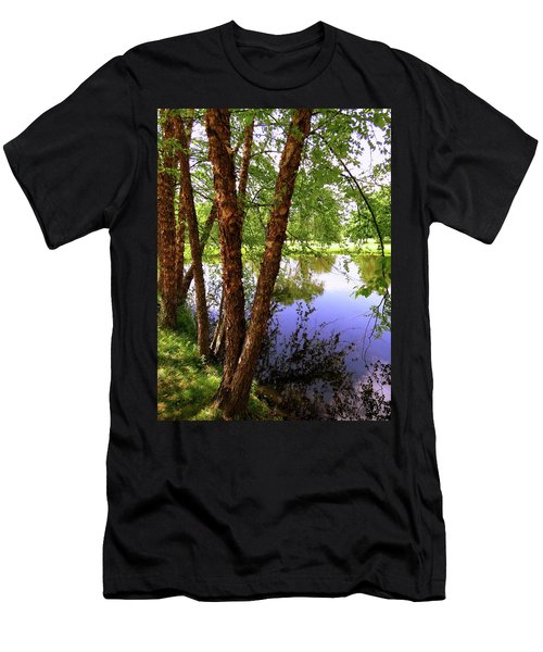Water Birch Men's T-Shirt (Athletic Fit)