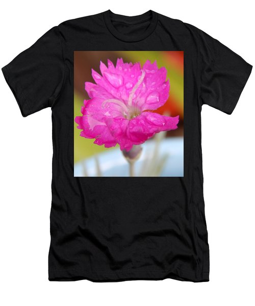 Water Bug Flower Men's T-Shirt (Slim Fit) by Samantha Thome