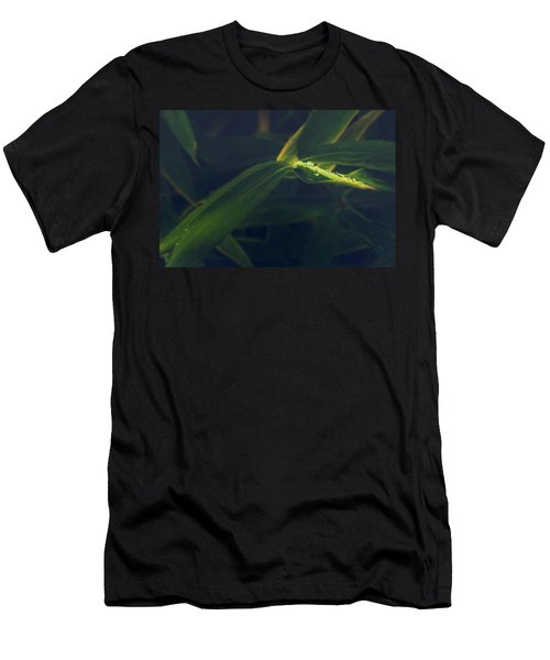 Men's T-Shirt (Athletic Fit) featuring the photograph Water Catcher by Gene Garnace