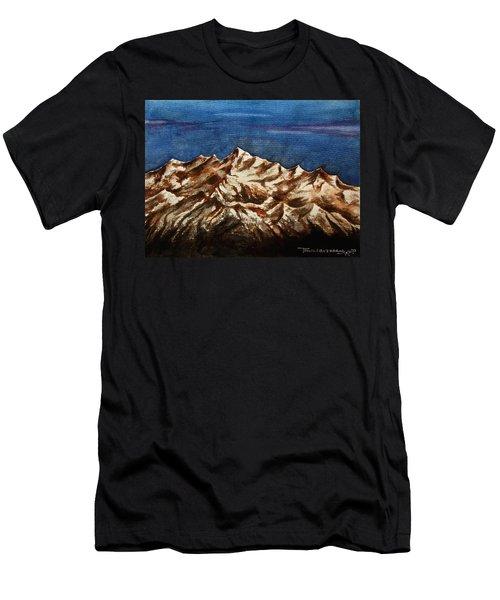 Water Color-6 Men's T-Shirt (Athletic Fit)