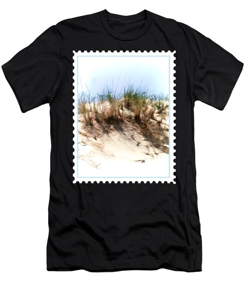 Water Color Sketch  Beach Dune Men's T-Shirt (Athletic Fit)