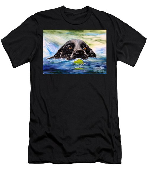 Water Dog Men's T-Shirt (Athletic Fit)