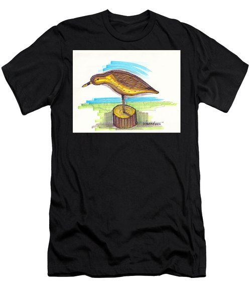 Water Fowl Motif #7 Men's T-Shirt (Athletic Fit)
