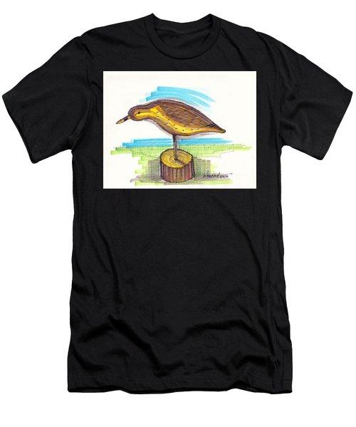 Water Fowl Motif #7 Men's T-Shirt (Athletic Fit)