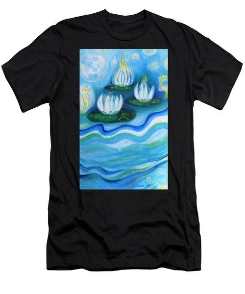 Water Garden Men's T-Shirt (Athletic Fit)