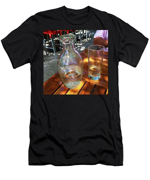 Water Glass And Pitcher Men's T-Shirt (Athletic Fit)
