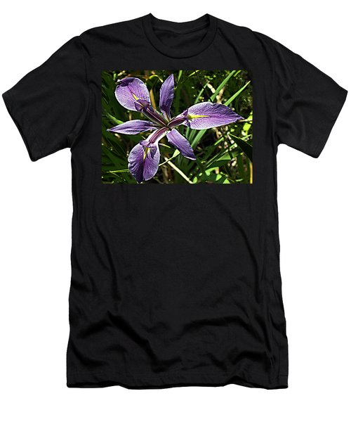 Water Iris Men's T-Shirt (Athletic Fit)