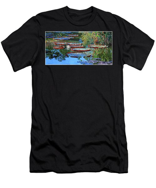 Water Lilies For Amelia Men's T-Shirt (Athletic Fit)