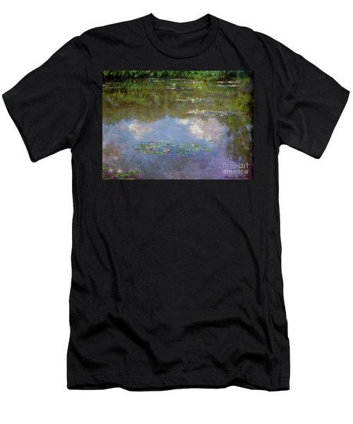 Water Lilies, The Cloud, 1903 Men's T-Shirt (Athletic Fit)