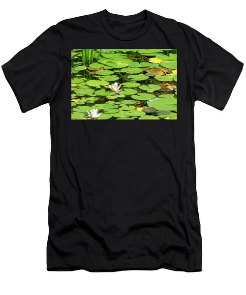 Water Lillies Men's T-Shirt (Athletic Fit)