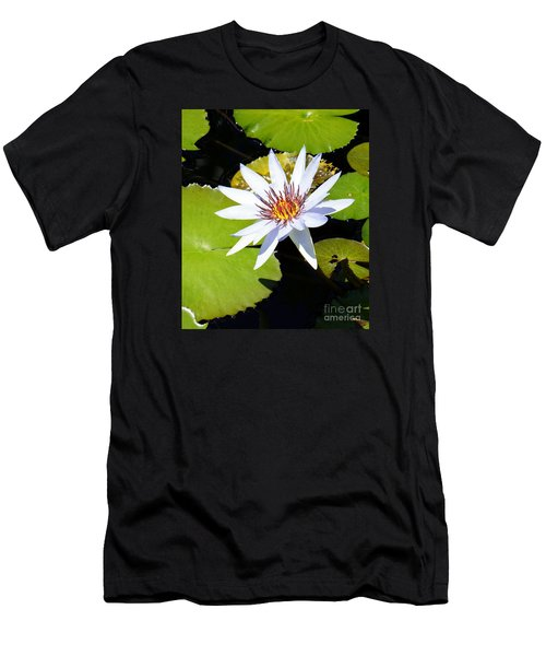 Water Lily 10 Men's T-Shirt (Athletic Fit)