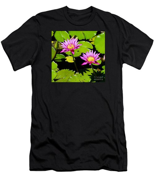Water Lily 11 Men's T-Shirt (Athletic Fit)