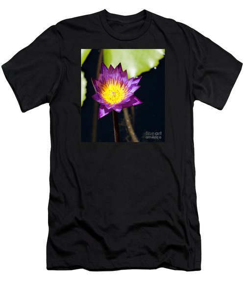 Water Lily 15 Men's T-Shirt (Athletic Fit)