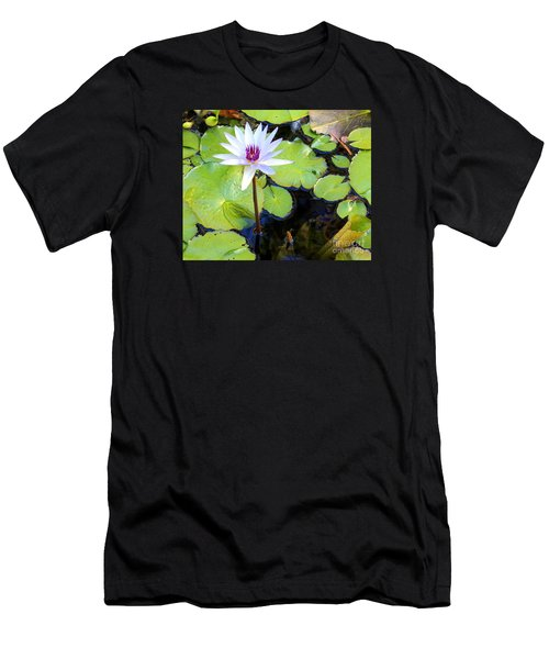 Water Lily 3 Men's T-Shirt (Athletic Fit)