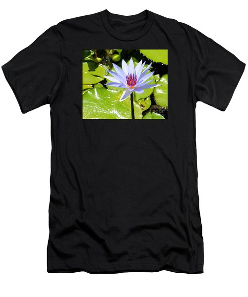 Water Lily 4 Men's T-Shirt (Athletic Fit)