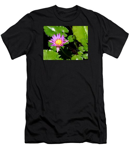 Water Lily 9 Men's T-Shirt (Athletic Fit)