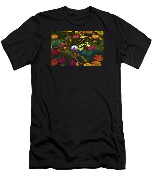 Water Lily Dreams Men's T-Shirt (Athletic Fit)