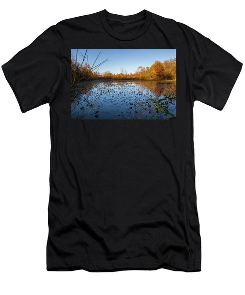 Water Lily Evening Serenade Men's T-Shirt (Athletic Fit)