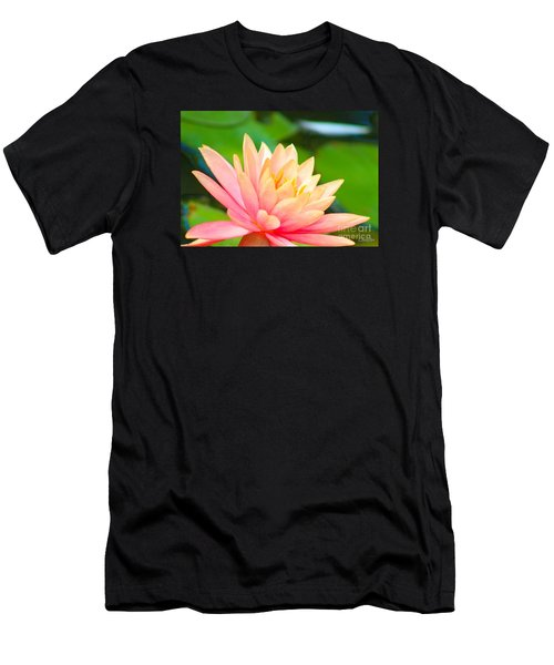 Floating Water Lily  Men's T-Shirt (Athletic Fit)