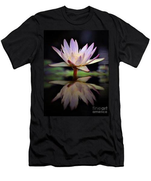 Men's T-Shirt (Slim Fit) featuring the photograph Water Lily by Savannah Gibbs