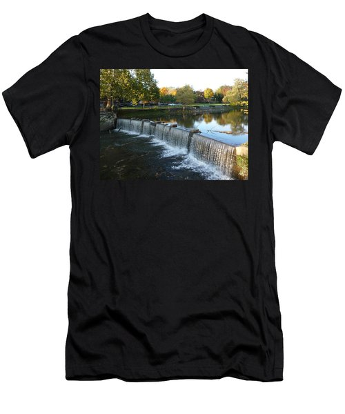 Water Over The Dam Men's T-Shirt (Athletic Fit)