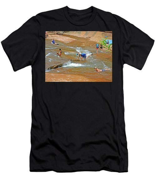 Water Play 3 Men's T-Shirt (Athletic Fit)