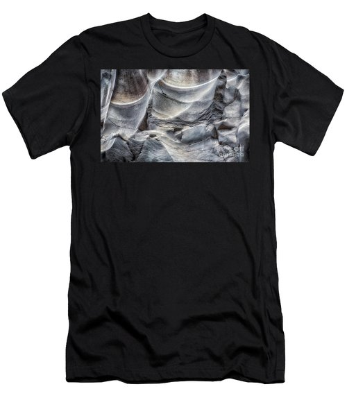 Water Sculpting Rock Art By Kaylyn Franks  Men's T-Shirt (Athletic Fit)