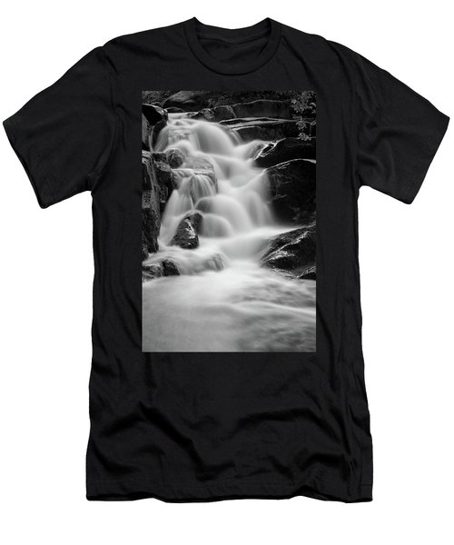 water stair in Ilsetal, Harz Men's T-Shirt (Slim Fit) by Andreas Levi