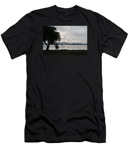 Water Tree Men's T-Shirt (Athletic Fit)