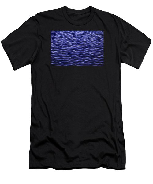 Water Waves Men's T-Shirt (Athletic Fit)