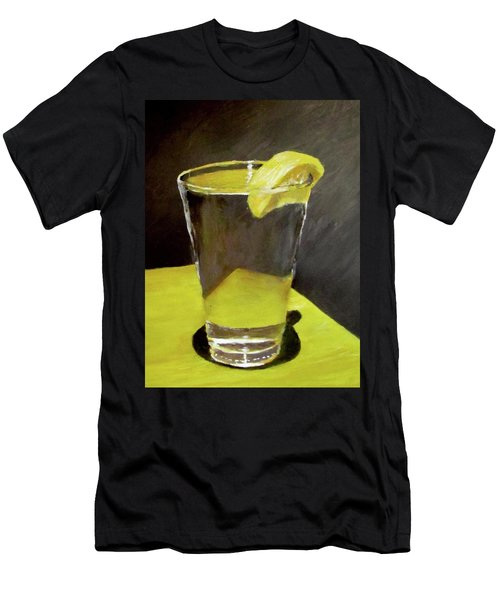 Water With A Lemon...please Men's T-Shirt (Athletic Fit)