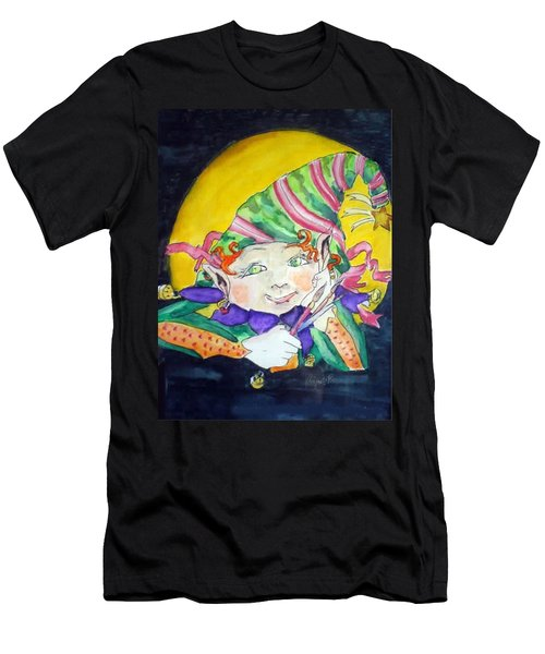 Elfin Artist Men's T-Shirt (Athletic Fit)