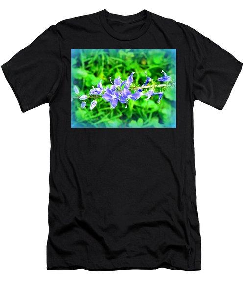 Watercolor Blooms Men's T-Shirt (Athletic Fit)