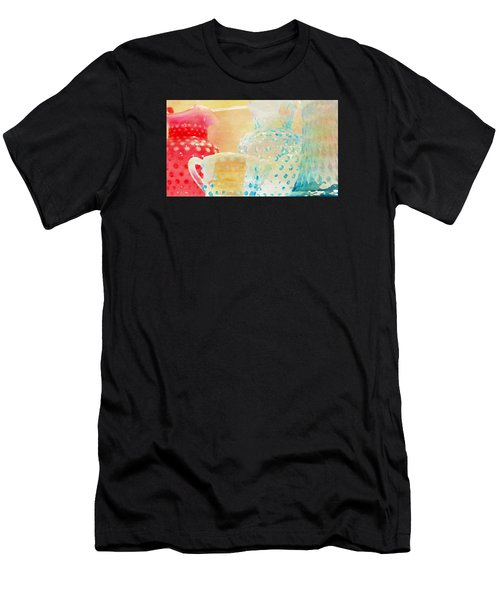 Watercolor Glassware Men's T-Shirt (Athletic Fit)