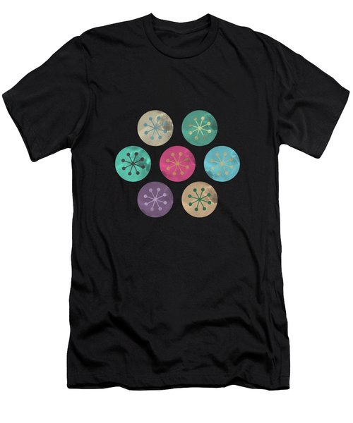 Watercolor Lovely Pattern Men's T-Shirt (Athletic Fit)
