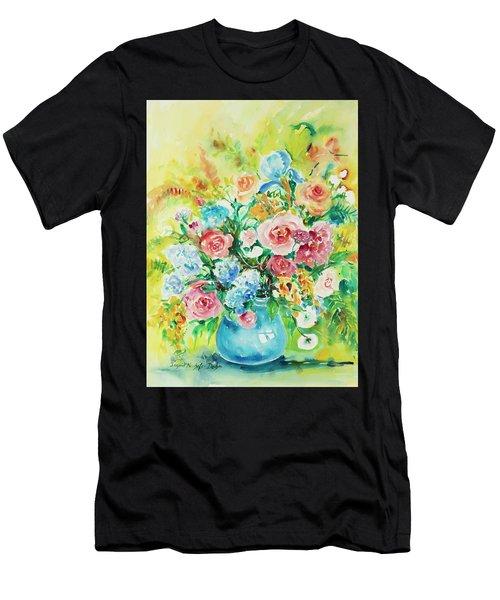 Watercolor Series 120 Men's T-Shirt (Athletic Fit)