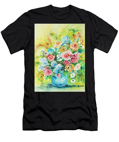 Watercolor Series 120 Men's T-Shirt (Athletic Fit)
