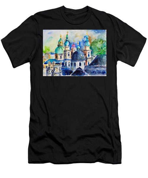 Watercolor Series No. 247 Men's T-Shirt (Athletic Fit)