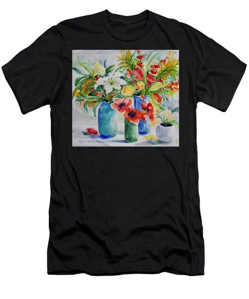 Watercolor Series No. 256 Men's T-Shirt (Athletic Fit)