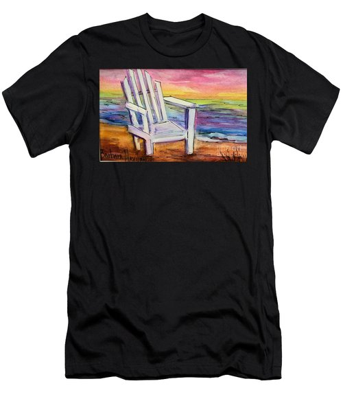 Watercolor White Chair Men's T-Shirt (Athletic Fit)